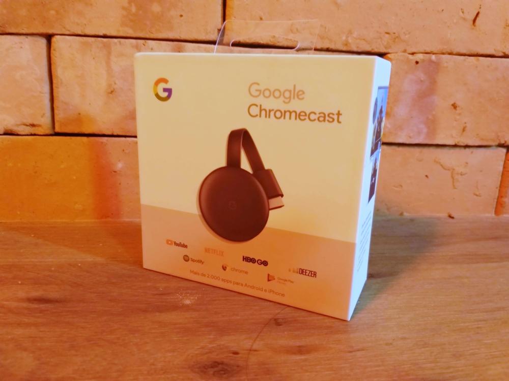 Google novo Chromecast 3