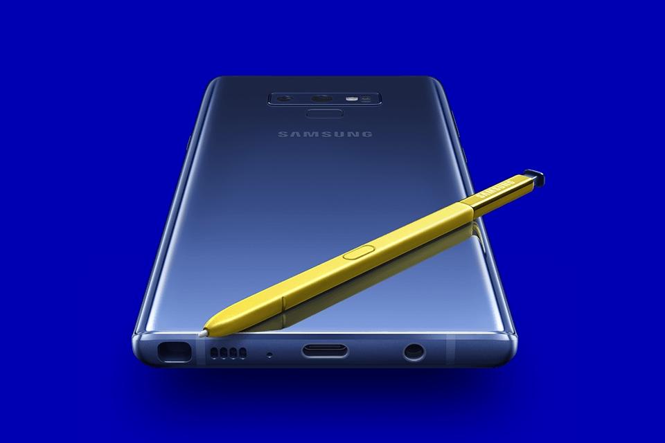 Imagem de S Pen do Galaxy Note poderá ter câmera embutida no tecmundo