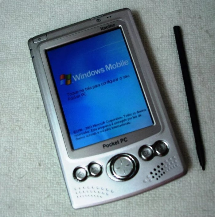 Um pocket PC