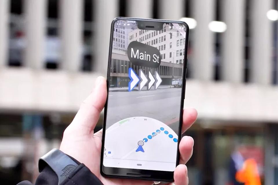 Imagem de Google Maps já vem testando navegação com realidade aumentada  no tecmundo