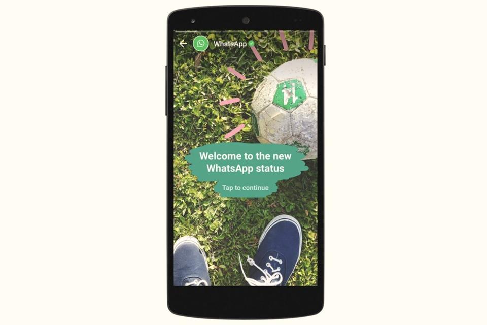 """Imagem de WhatsApp testa nova exibição para as atualizações de seu """"Stories"""" no tecmundo"""