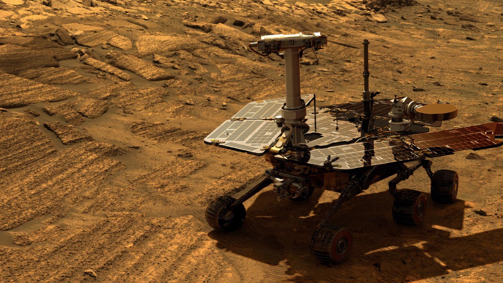 Imagem de NASA desiste da sonda Opportunity após perder contato com veículo em Marte no tecmundo