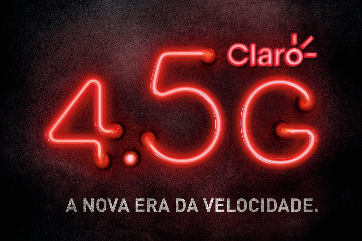 Imagem de Operadora Claro é criticada por logotipo enganoso de serviço 4.5G no tecmundo