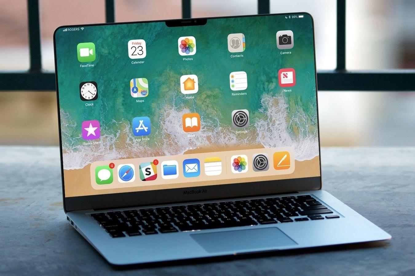 """Imagem de Benchmark: novos MacBooks com """"processador de iPhone"""" seriam bem poderosos no tecmundo"""