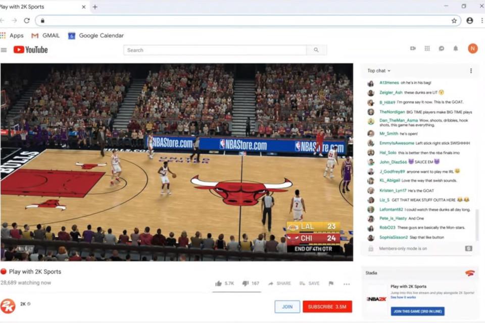 Imagem de Google Stadia terá integração com o YouTube e compartilhamento via link no tecmundo
