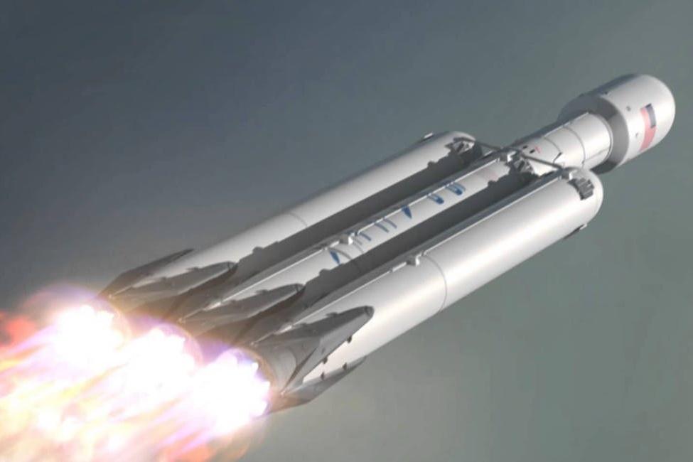 Imagem de SpaceX perde propulsor central do Falcon Heavy devido ao mar revolto no tecmundo