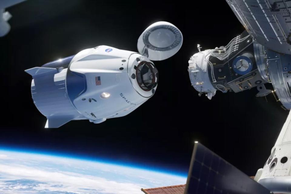Imagem de SpaceX confirma que cápsula Crew Dragon explodiu durante testes no tecmundo