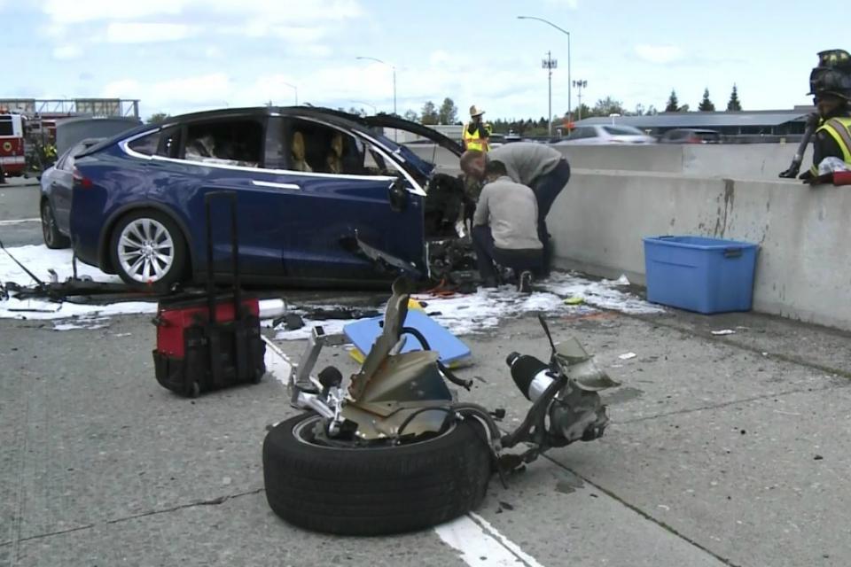 Imagem de Tesla é processada por família de homem morto em acidente com Model X no tecmundo