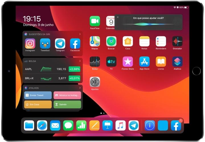 , Siri pode mudar em futura versão do iPadOS a pedido de usuário brasileiro, rtvcjs, rtvcjs