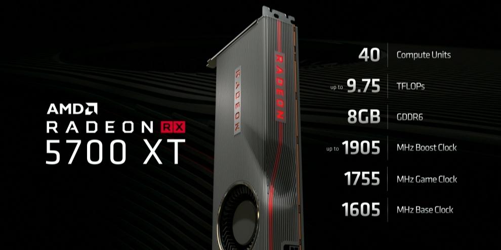 AMD anuncia novas placas Radeon RX 5700 com novidades na arquitetura