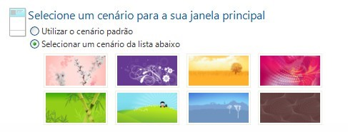 Recurso do novo Windows Live Messenger