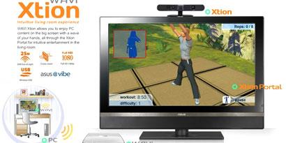 Imagem de ASUS anuncia o WAVI Xtion, sistema de captura de movimentos para PC no site TecMundo