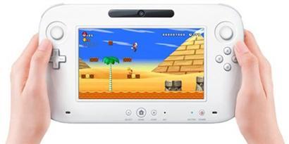 Imagem de Controle do Wii U conta com tela de 854x480 pixels no site TecMundo