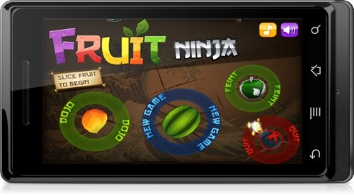 Fruit Ninja é outro jogo que faz muito sucesso no mundo dos smartphones e  tablets, liderando os downloads no Android Market e na App Store. f4763c3ddd