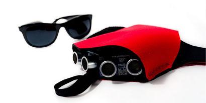 Imagem de Sonar para cegos traduz distância de objetos em pressão para a mão do usuário no site TecMundo