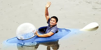Imagem de Chinês cria submarino capaz de ficar submerso durante 10 horas no site TecMundo