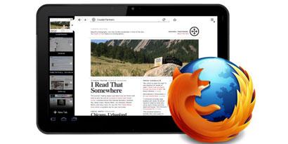 Imagem de Mozilla revela imagens do Firefox para tablets no site TecMundo