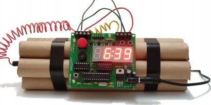 Imagem de Esta bomba-relógio não deve ser levada na mala de viagem no site TecMundo
