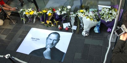 Imagem de Homenagens de fãs a Steve Jobs são dignas de um rockstar no site TecMundo