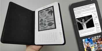Imagem de E-readers: tendências para o futuro no site TecMundo