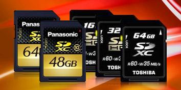 Imagem de SDXC: nova tecnologia de cartão de memória na CES 2010 no site TecMundo