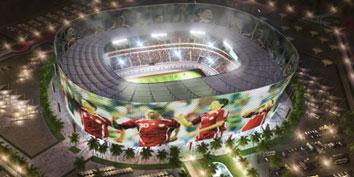 Imagem de Qatar apresenta protótipos de estádios para a Copa do Mundo 2022 que esbanjam tecnologia no site TecMundo