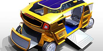 Imagem de UniCab: solução sustentável para os taxis do futuro no site TecMundo