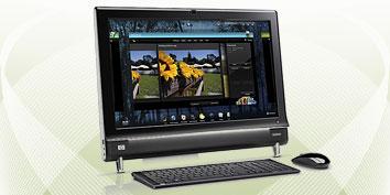 Imagem de Análise: HP Touchsmart 600 no site TecMundo