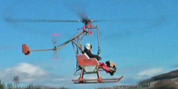 Imagem de Helicóptero ecologicamente correto utiliza água oxigenada como combustível no site TecMundo