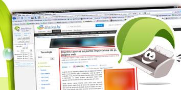 Imagem de Imprima apenas as partes importantes de qualquer página web no site TecMundo