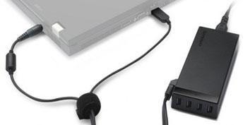 Imagem de Carregador de notebooks ganha portas USB no site TecMundo