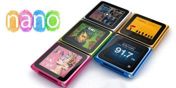 Imagem de Análise: iPod nano 6G no site TecMundo