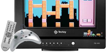 """Imagem de Novos eletrônicos: TV de 14"""" da Tectoy vem com jogos e pode ser personalizada no site TecMundo"""