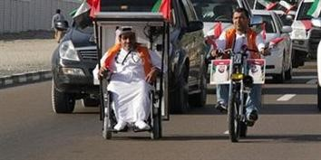 Imagem de Homem viaja em cadeira de rodas movida à energia solar no site TecMundo