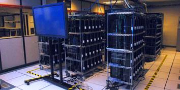 Imagem de Mais de 1500 PlayStation 3 reunidos para formar um único supercomputador no site TecMundo