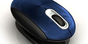 Imagem de Mini mouse ergonômico evita desconforto ao ser usado no site TecMundo
