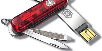 Imagem de Victorinox lança pendrives em canivetes suiço no site TecMundo