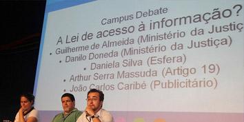 Imagem de Campus Party: lei de acesso à informação no Brasil no site TecMundo