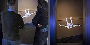 Imagem de Holocube: projeção 3D gigante já é realidade no site TecMundo