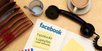 Imagem de Facebook segue testando sistema para ligações e vídeochamadas no site TecMundo