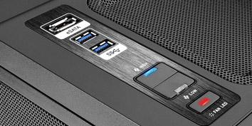 Imagem de Thermaltake Level 10 GT: gabinete é passado no site TecMundo