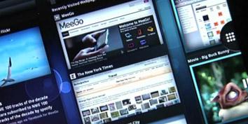 Imagem de Intel exibe novamente a interface do MeeGo para tablets no site TecMundo