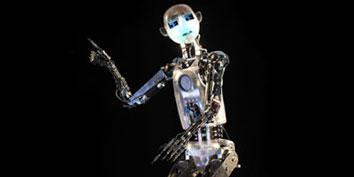 Imagem de RoboThespian fará apresentações na CeBIT no site TecMundo