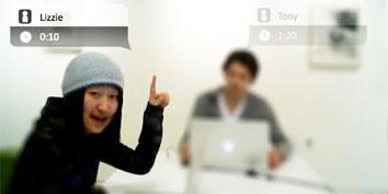 Imagem de Kinect é usado para videoconferência no site TecMundo