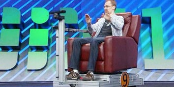 Imagem de Kinect permite controlar uma cadeira através de gestos das mãos no site TecMundo