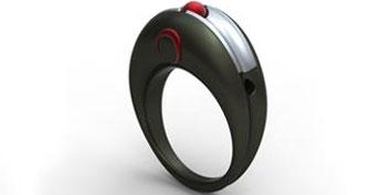 Imagem de Projeto conceitual apresenta mouse em formato de anel no site TecMundo